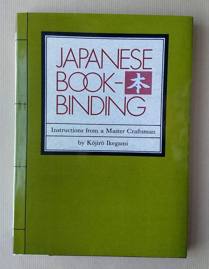 Japanese Book-Binding by Kojiro Ikegami