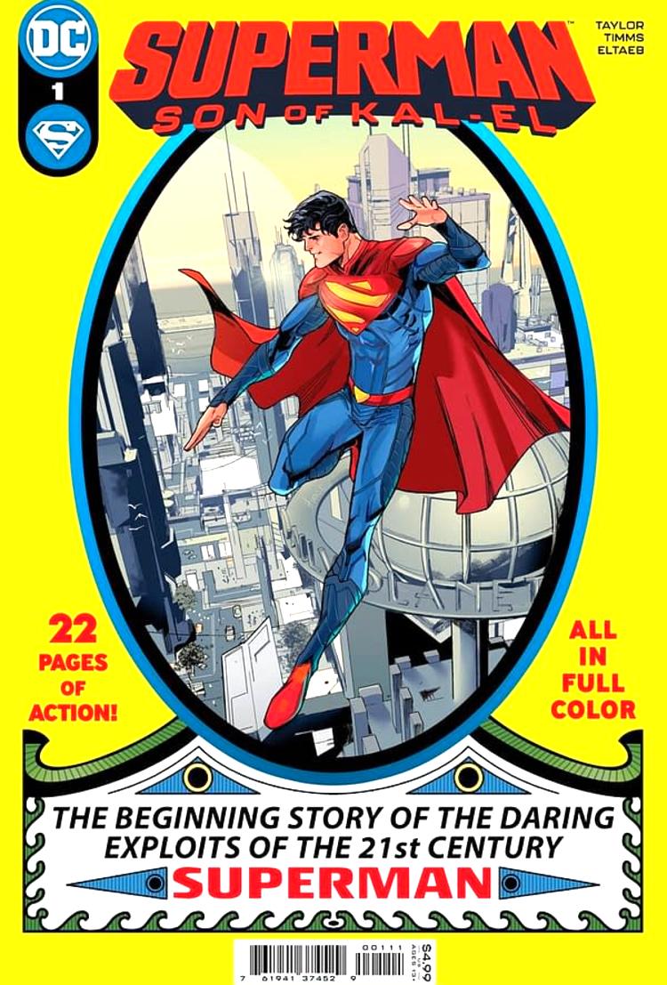 Superman: Son Of Kal-El #1 Review | The Aspiring Kryptonian