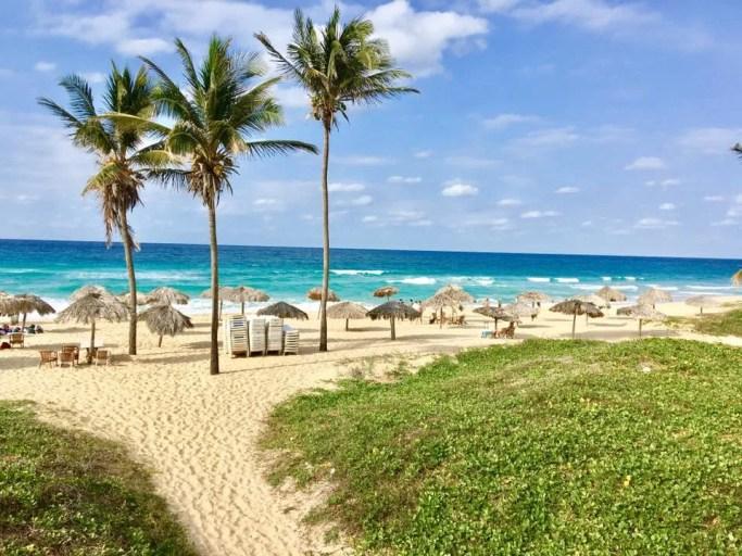 Playas en Cuba