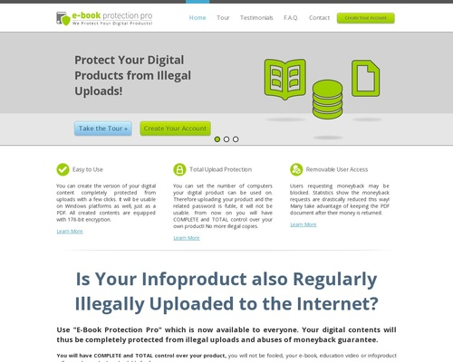 E-book Protection Pro - We Protect Your Digital Products!