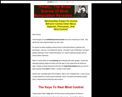 Elite Social Control - Machiavellian Mingling Advice, How to Control Others, and more