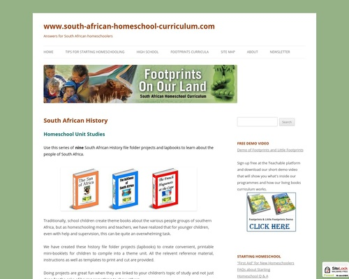 South African History | www.south-african-homeschool-curriculum.com