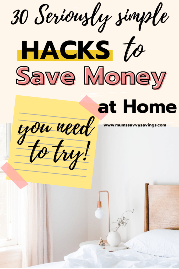 30 Easy Ways to Reduce Household Expenses and Save Hundreds