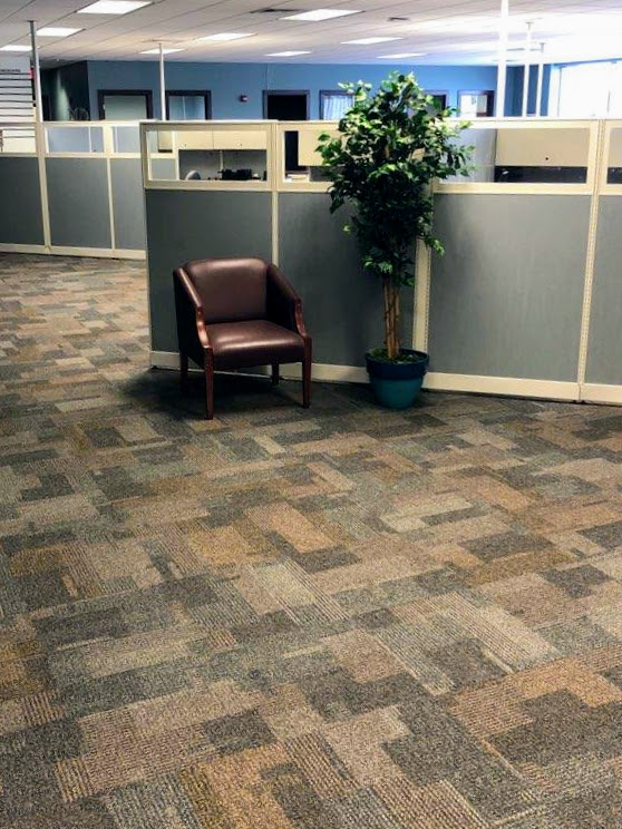 office carpet installation in