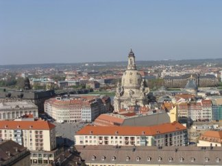 Rooftops in Dresden with the best of friends.