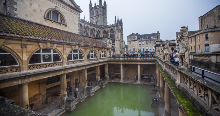 Following in the Footsteps of the Roman Empire: Exploring the City of Bath, England