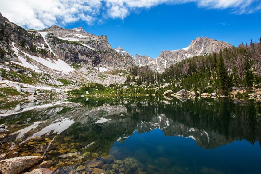 Hiking to Amphitheater Lake   Grand Teton National Park