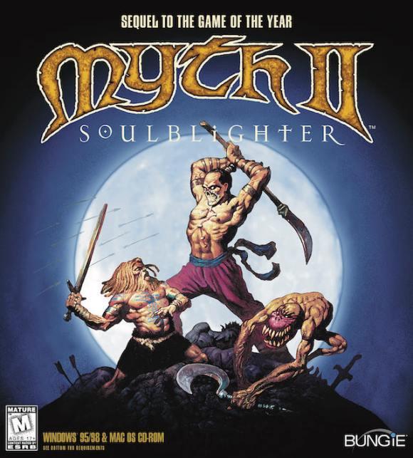 Myth II Cover