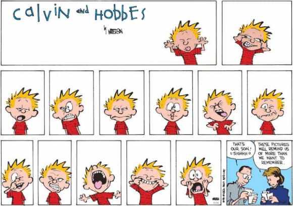 Portrait Bill Watterson créateur de Calvin & Hobbes 17