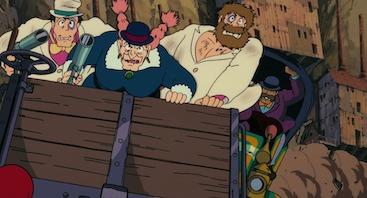 Femmes Ghibli Miyazaki Laputa