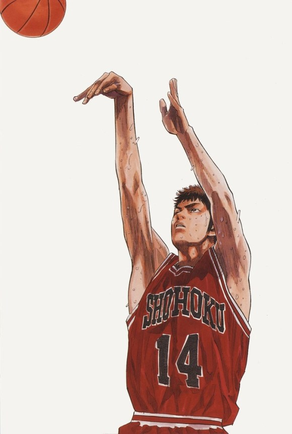 Slam Dunk manga illustration