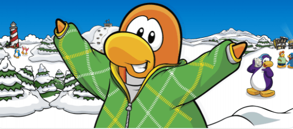 MMO pour enfants pingouin