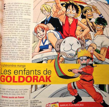 Goldorak dans Télé 7 jours