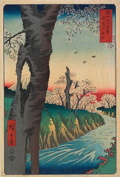 utagawa-hiroshige-koganei-in-musashi-province-1858
