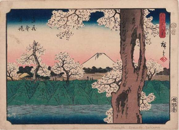 utagawa-hiroshige-the-embankment-at-koganei-in-musashi-province-musashi-koganei-tsutsumi
