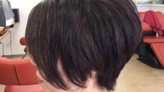 癖毛で多毛さんのショートヘア