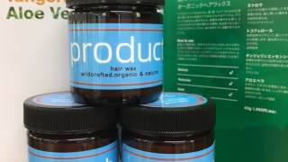 product Hair Wax 入れました!!