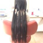 8歳の子のヘアドネーション