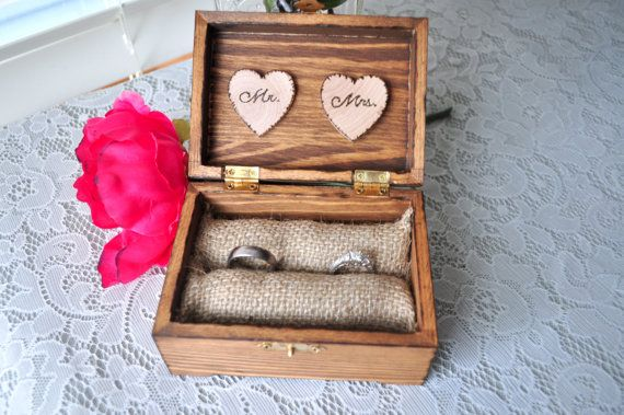 Rustic Wedding Rings