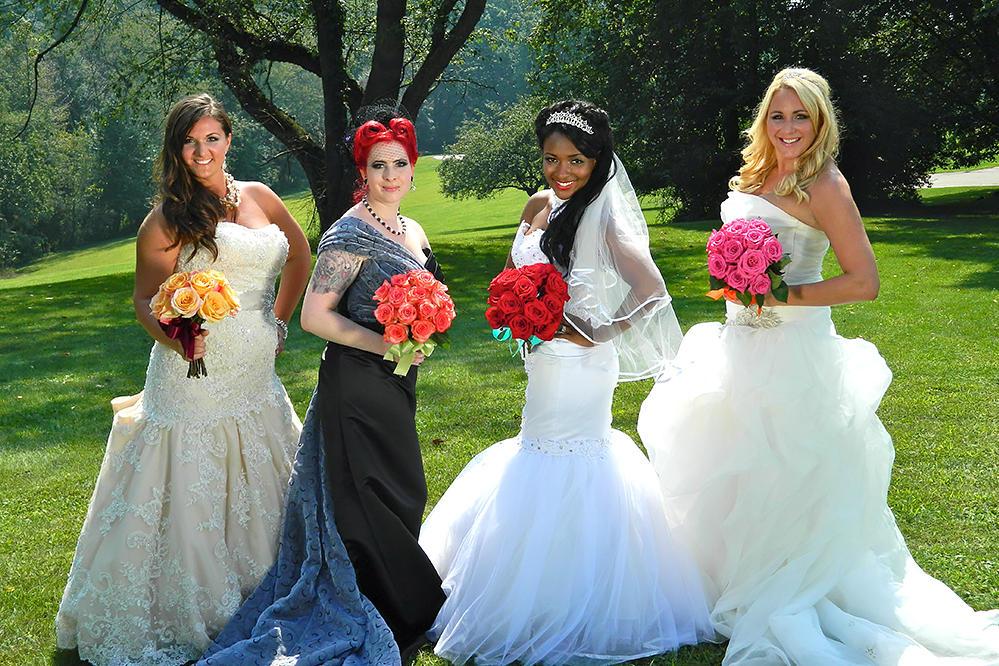 Four Weddings Bouquets