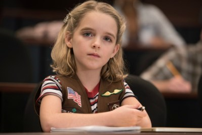 """Mckenna Grace as """"Mary"""" in the film GIFTED. Photo by Wilson Webb. © 2017 Twentieth Century Fox Film Corporation All Rights Reserved."""
