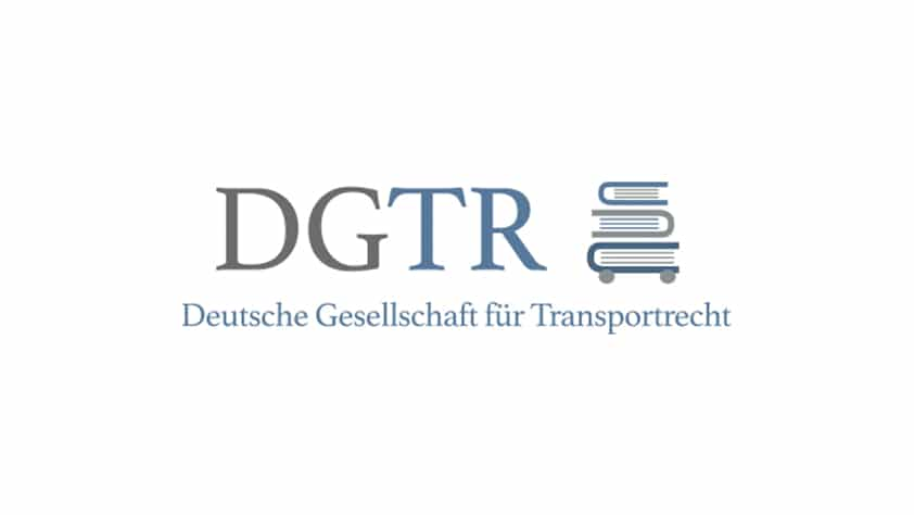 Sigrid PREISSL at the annual congress of the German Association for Transport law