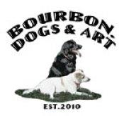 Bourbon, Dogs and Art Logo