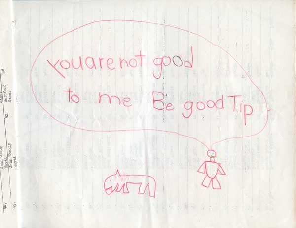 You're not good Tip
