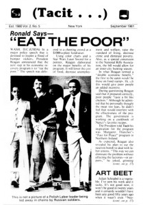 Tacit - Eat the Poor