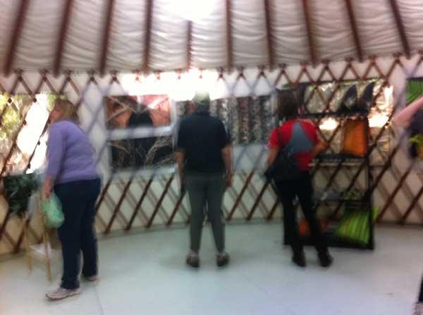 People in Yurt