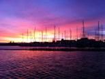 Sunrise over Simons Town