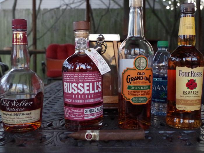 bourbon and cigar pairing