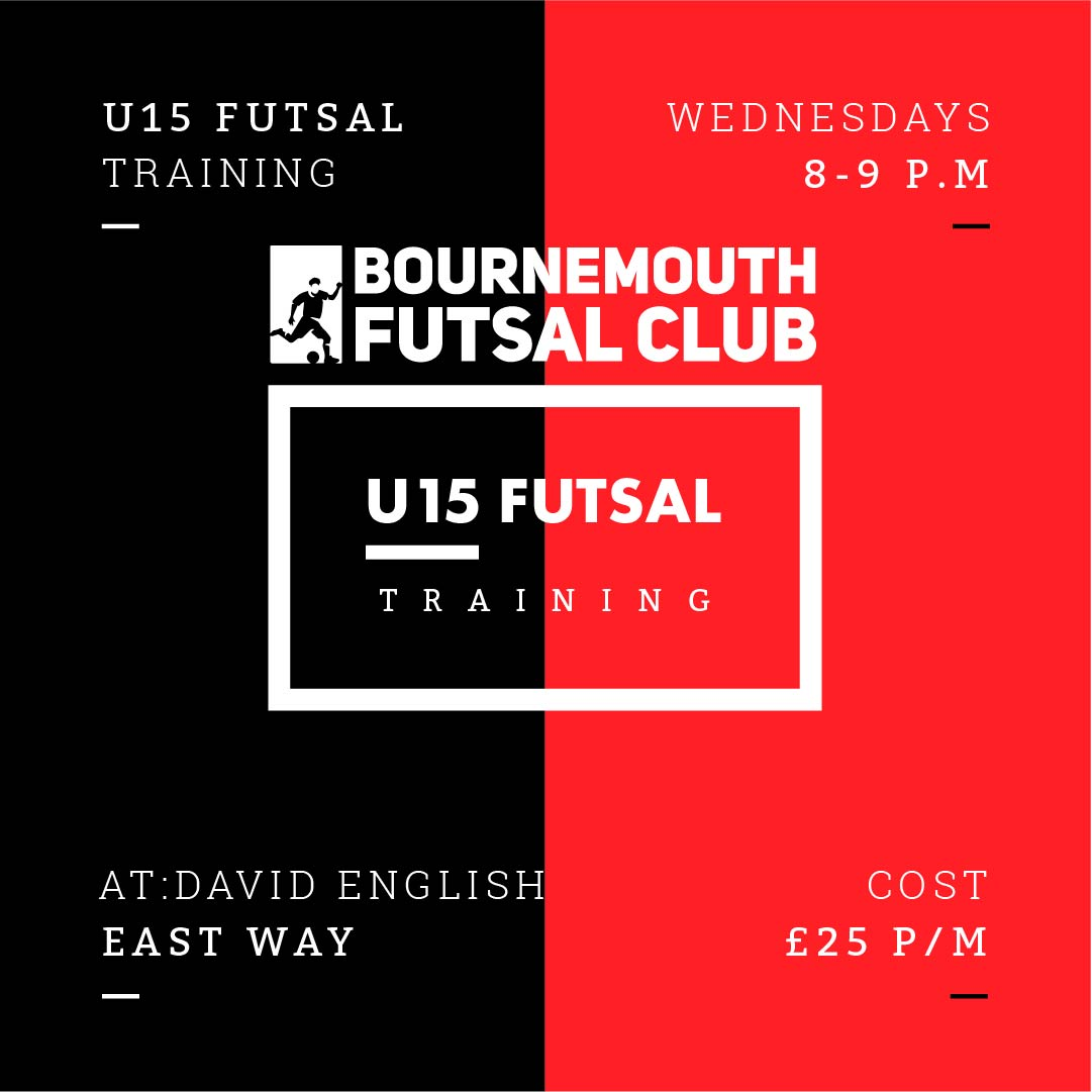 U15 Futsal Training Bournemouth