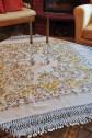 Κ03-Τ καρέ,σγουρό τσεβρόπανο, χρυσοκέντημα, βυζαντινή βελονιά, φουρκέτα χειρός