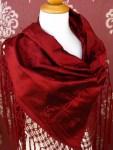 silk tringle with handmade makrame 45Ε