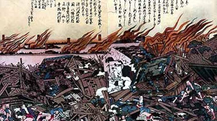 【お江戸リスクマネジメント】地震から半日で1000坪の仮設住宅ができた!?