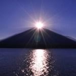 ダイヤモンド富士が見られる条件や時期はいつ!撮影ポイントはどこ?