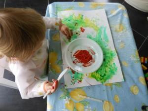Activité peinture