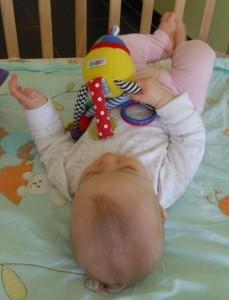 Jouet pour bébé : le poulpe