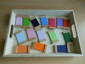 Activité pédagogique sur les couleurs