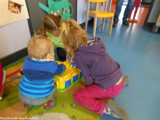 Exposition au relais d'accueil petite enfance