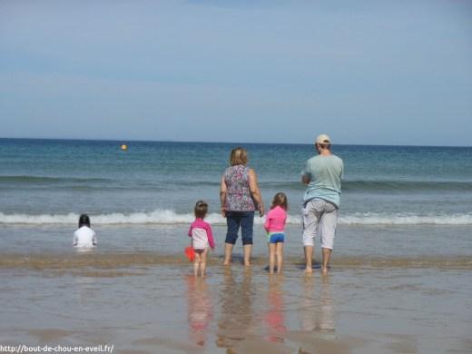 Vacances de la famille bout de chou en eveil