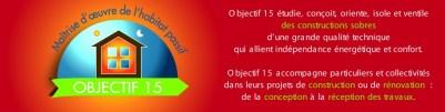 Bandeau Cartes de visite Site Internet Objectif 15