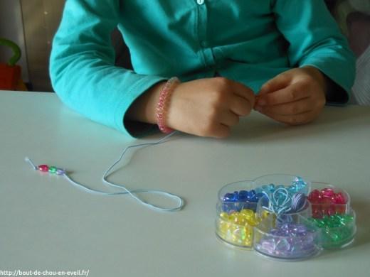 Perles pour bout de chou de 5 ans