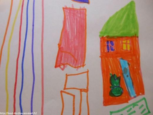 Premier dessin de maison