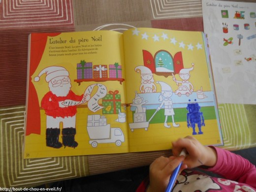 Livre d'activités de Noel pour les tout petits