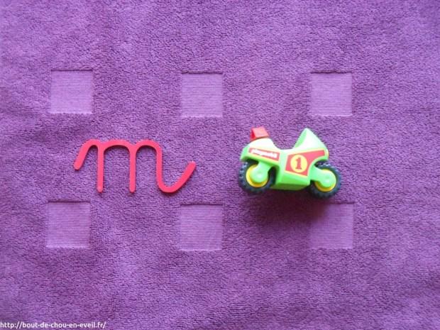Activité Montessori - le son des lettres