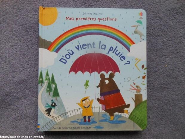 D'où vient la pluie, Editions Usborne