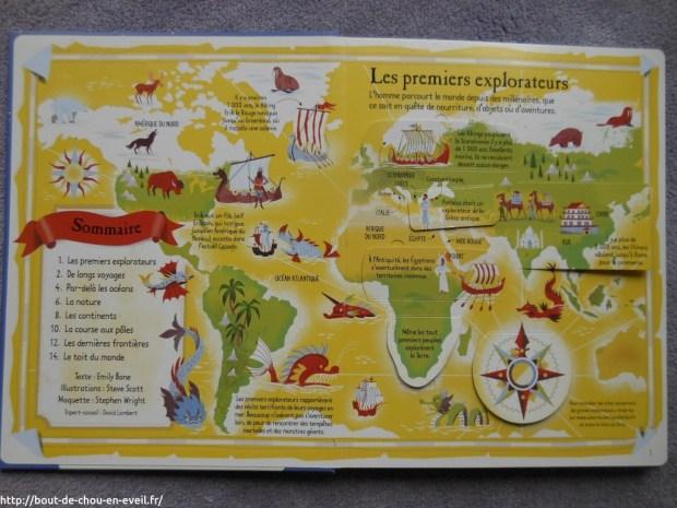 Explorations et découvertes, Editions Usborne