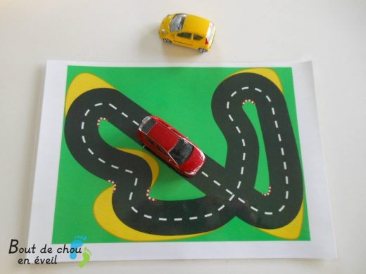Circuit voiture pour long voyage en voiture
